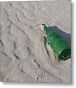 Message In A Bottle Metal Print by Peter Waters