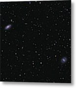 Messier 88 And Messier 91 Metal Print