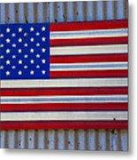 Metal American Flag Metal Print