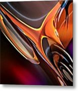 Metal And Fire Bird Metal Print
