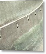 Metal Container Metal Print by Tom Gowanlock