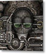 Metal Mask Metal Print