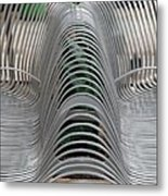Metal Strips Metal Print