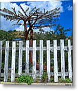 Metal Art Tree Bisbee Metal Print