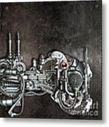 Danger From Above Metal Print by Diuno Ashlee