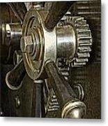 Metals Bank Door Metal Print