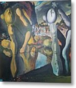 Metamophosis Of Narcissus Metal Print