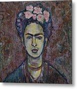 Metamorphosis Frida Metal Print