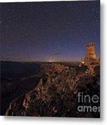 Meteor Over Grand Canyon, Usa Metal Print