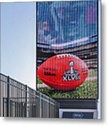 Metlife Stadium Box Office Metal Print