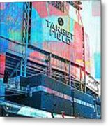 Metro Transit And Target Field  Metal Print