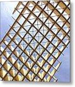 Metropol From Below Metal Print