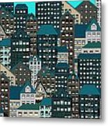 Metropolis Eight Metal Print