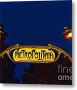Metropolitain #1 Metal Print
