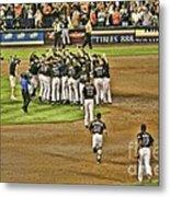 Mets Take Nl 2006 Metal Print