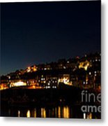Mevagissy Nights Metal Print