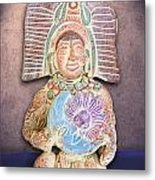 Mexican Clay Artwork Metal Print