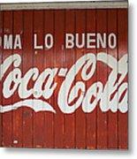 Mexican Coke Metal Print