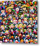 Mexican Dolls Metal Print