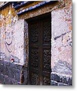Mexican Door 34 Metal Print