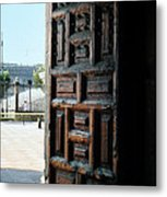 Mexican Door 35 Metal Print