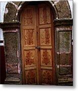 Mexican Door 56 Metal Print