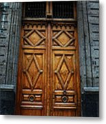 Mexican Door 68 Metal Print