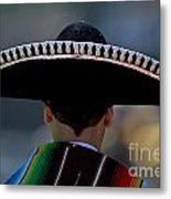 Mexican Folk Dancers Metal Print