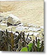 Mexican Stand Off Metal Print