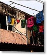 Mexican Street Metal Print