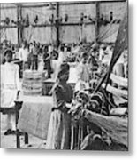 Mexican Textile Factory Metal Print