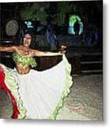 Mexican Traditional Dancer Metal Print