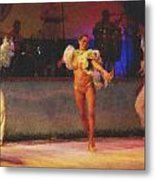 Mexican Traditional Dancers Metal Print