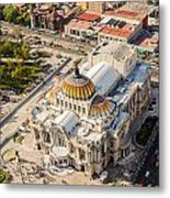 Mexico City Fine Arts Museum Metal Print by Jess Kraft