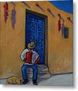 Mexico Impression II Metal Print