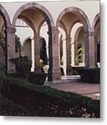 Mexico Orphanage 2 By Tom Ray Metal Print