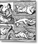 Mexico: Smallpox Epidemic Metal Print