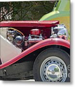 Mg Engine Metal Print
