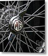 Mg Wheel Metal Print