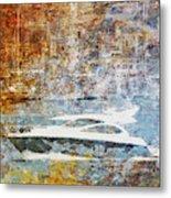 Mgl - Gold Mediterrane 05 Metal Print