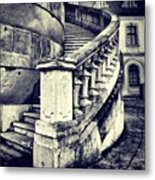 #mgmarts #architecture #castle #steps Metal Print