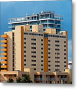 Miami Apartments Metal Print