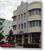 Miami Art Deco Metal Print