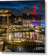 Miami Bayside And Freedom Tower Metal Print