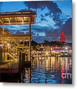 Miami Bayside Freedom Tower Metal Print