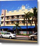 Miami Beach - Art Deco 38 Metal Print