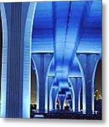 Miami Bridge Metal Print
