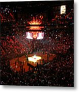 Miami Heat  Metal Print by J Anthony