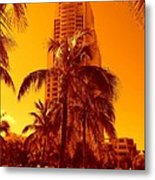 Miami South Pointe Iv Metal Print