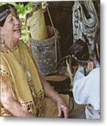 Miccosukee Indian Tribe Metal Print